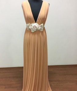 vestido-invitada-melocoton-bcn-novia